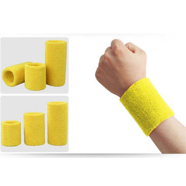 Colorful Cotton Sports Wrist Support